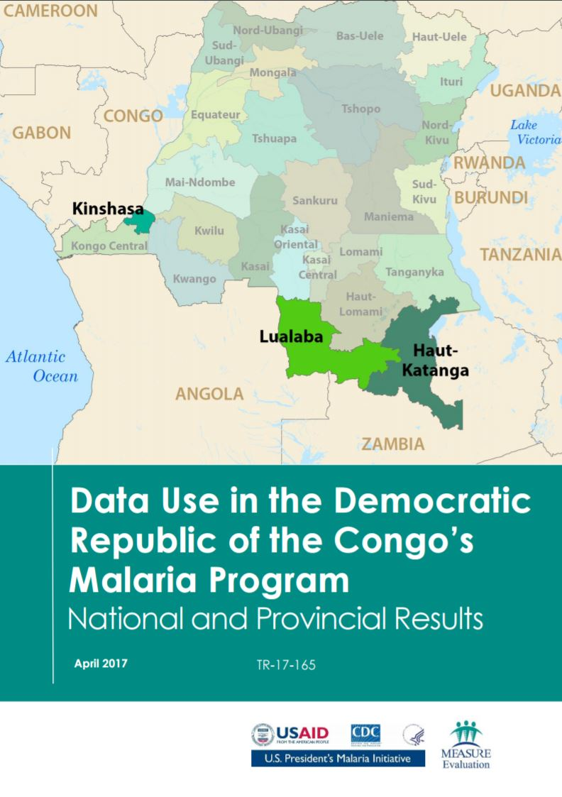 Data Use in the Democratic Republic of the Congos Malaria Program: National and Provincial Results