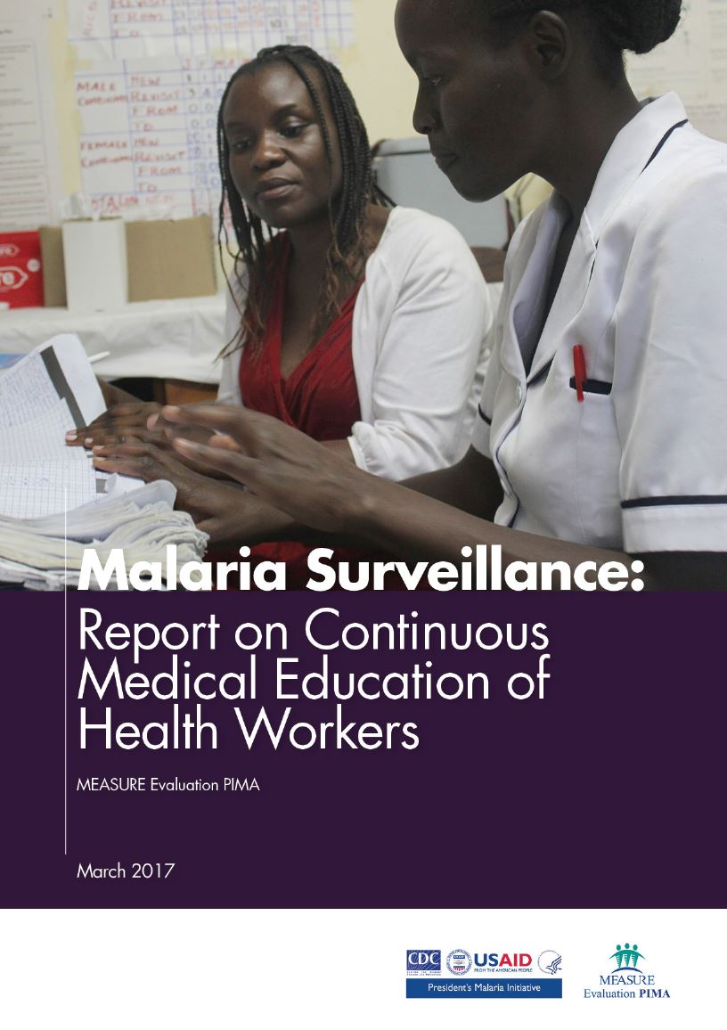 Malaria Surveillance: Report on Continuous Medical Education of Health Workers