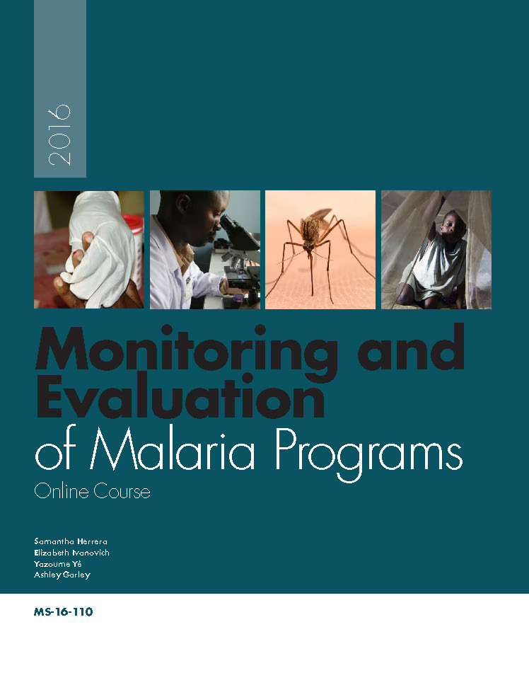 Monitoring and Evaluation of Malaria Programs - Online Course