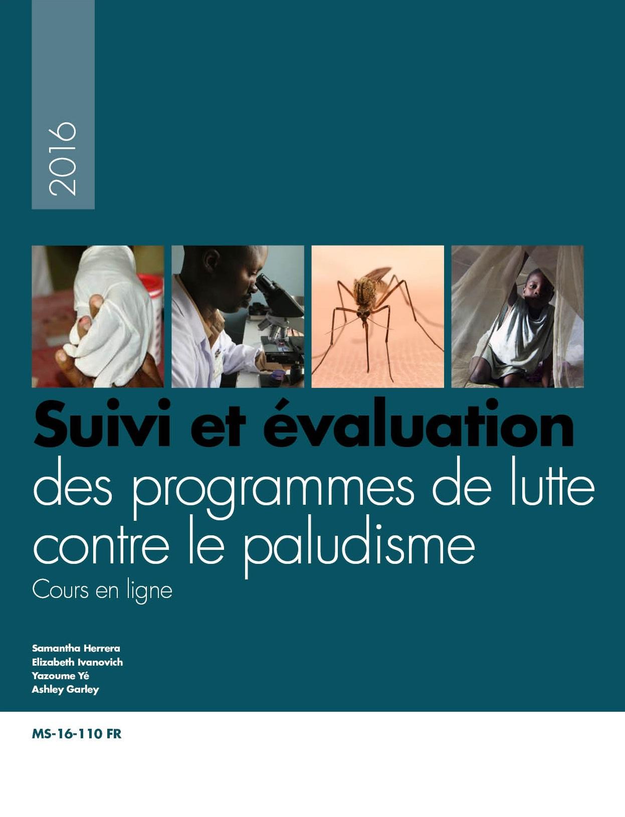 Suivi et évaluation des programmes de lutte contre le paludisme – Cours en ligne